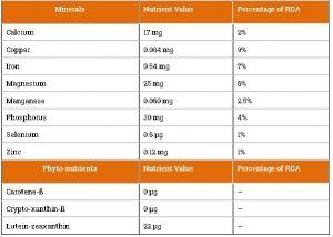 tabel kandungan nutrisi dan vitamin buah sukun 3