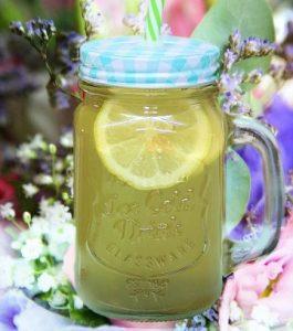 teh buah lemon campur madu